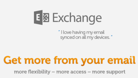 Hosted Microsoft Exchange Business Class email
